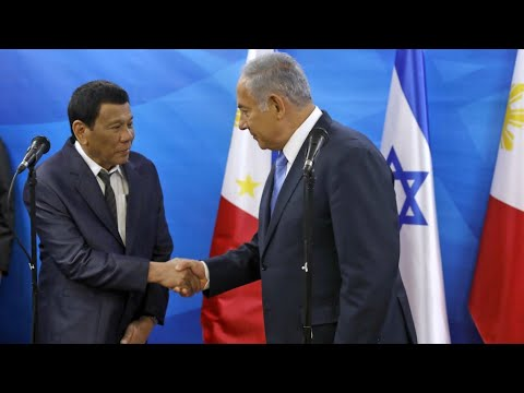 Duterte in Israel for first visit by a Philippines president