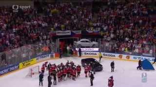 Финал ЧМ по хоккею 2015 Церемония награждения