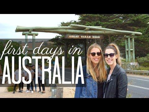 First Days in Australia! | Getting My Feet Wet...