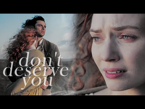 ross & demelza II don't deserve you (poldark)