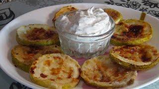 Кабачки  в духовке- очень быстрый и очень вкусный рецепт (the zucchini in the oven)