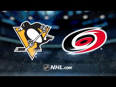 Ryan, Aho lead Hurricanes past Penguins for 2-1 win