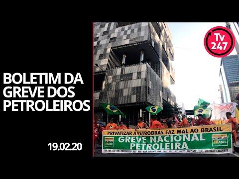 Boletim Da Greve Dos Petroleiros (19.02.20)