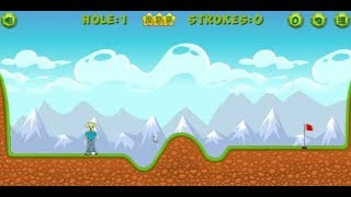 Mathpup golf addition sports game hole1 to hole5 complete