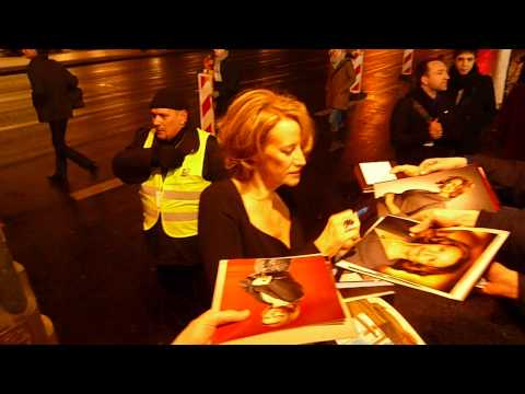 Janet McTeer signing