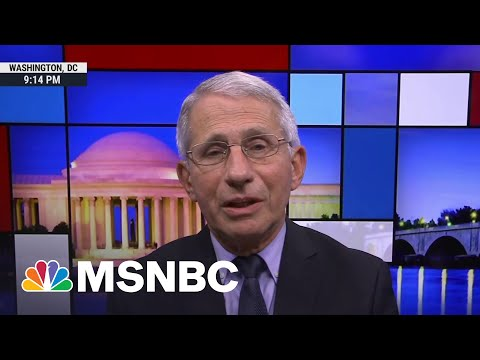 Dr. Fauci Reacts To Attacks By Right-Wing Media And Trump Echo Chamber
