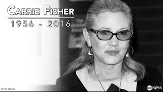 Carrie Fisher Dead at 60   Archival Interview on Star Wars, Debbie Reynolds