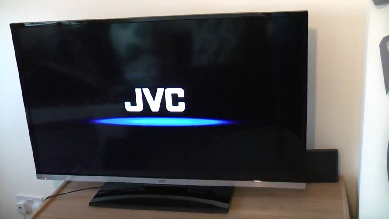JVC HD Television Unboxing FAIL!!!!