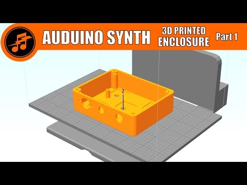 LIVE from the Lab: Auduino Synth build - 3D Printed Enclosure - Part 1