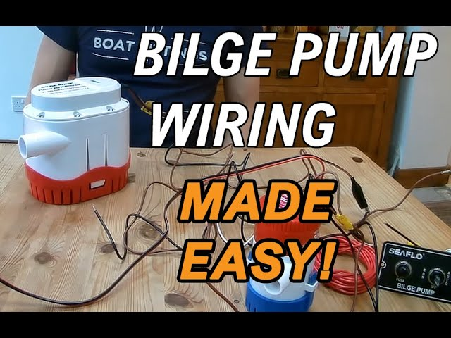 how do you wire a bilge pump we wire up manual and