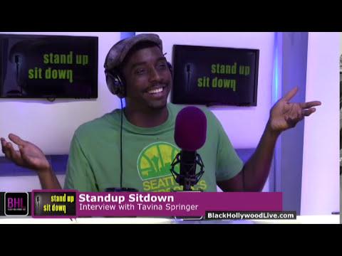 Stand-Up, Sit-Down w/ Travina Springer | October 10th, 2014 | Black Hollwood Live