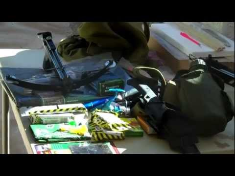 3 in 1 Backpack Crossbow Deluxe Survival Pack from survivalistunite.com