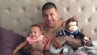 Aaron Hernandez's Fiancée Says He Loved Their Daughter, 'She Was Very Much A Daddy's Girl'