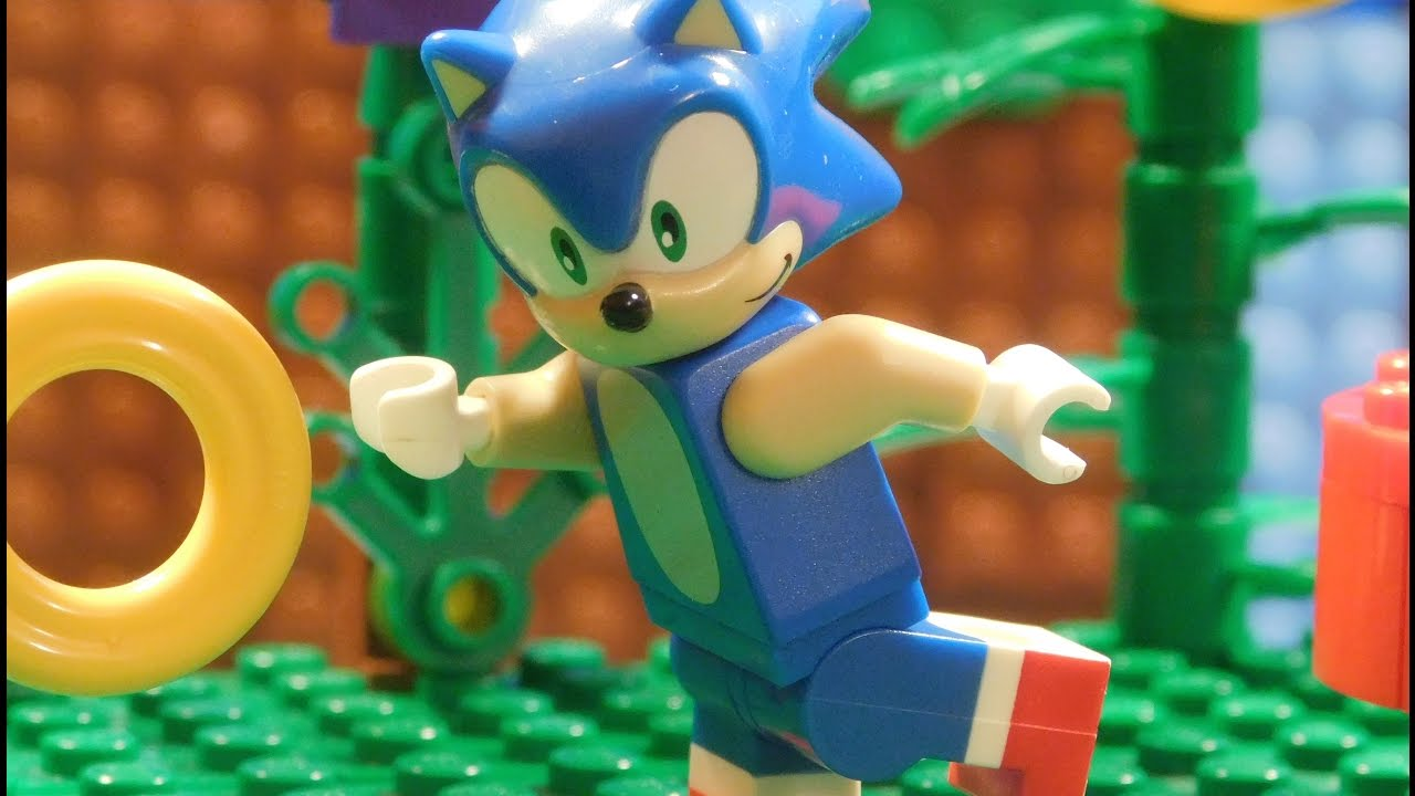 Lego Sonic The Hedgehog Green Hill Zone Youtube