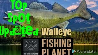 Fishing Planet | How to catch Walleye Guide| Emerald Lake New York Fishing| Secret Fishing Spot
