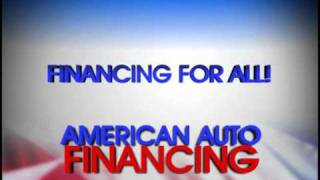 Ad for American Auto Financing