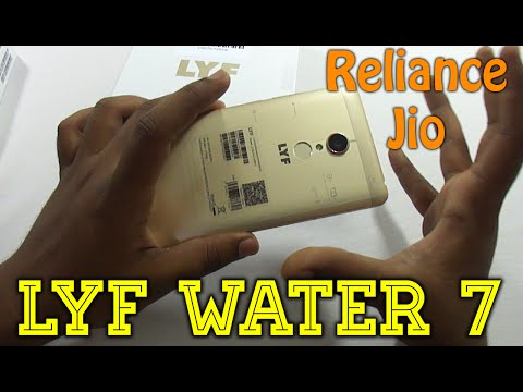 Lyf Water 7 Budget VoLTE Android Unboxing Review | Free Reli