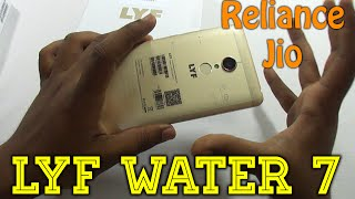 Lyf Water 7 Budget VoLTE Android Unboxing Review | Free Reliance JIO 4G