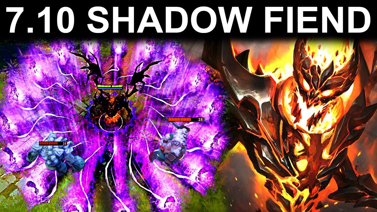 NEW SHADOW FIEND UPDATE PATCH 710 DOTA 2 NEW META