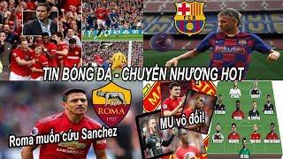 Tin bóng đá|Chuyển nhượng 12/08|Tổng hợp Vòng 1 NHA Quỷ Đỏ HỒI SINH, Barca tăng tốc vụ Neymar!