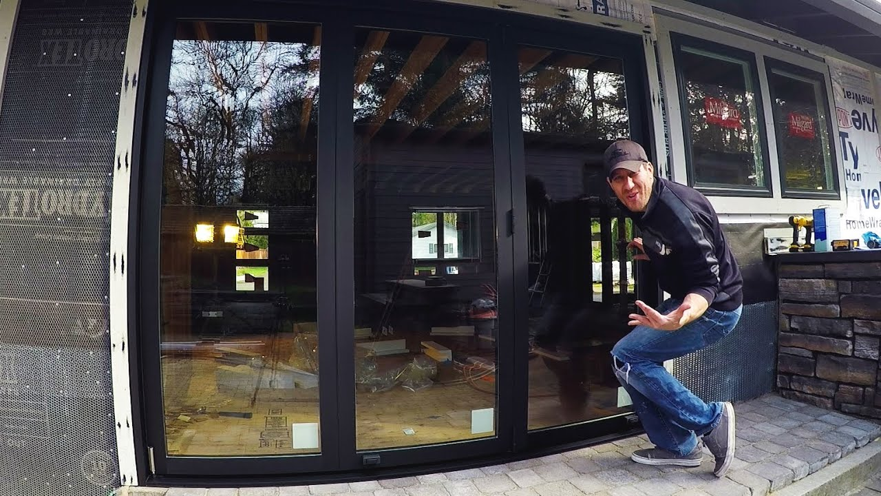 la cantina doors cost multi lacantina patio door diy installation time lapse youtube