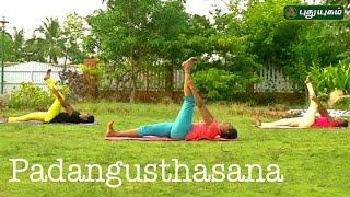 Padangusthasana   யோகா For Health   10/05/2017   Puthuyugamtv