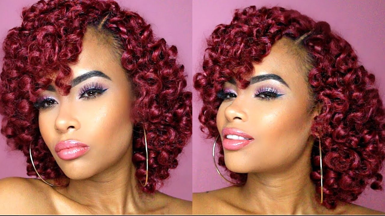 Hair Styles For Braids Pictures: $10 NO Cornrow Crochet Braids & NO Leave Out!