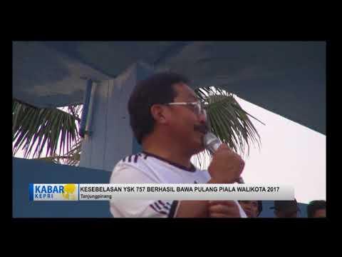 YSK 757 JUara walikota cup 2017