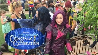 "Descendants perform ""Rotten to the Core"" at 2015 Disney Christmas Celebration taping"