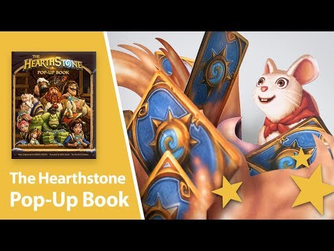 The Hearthstone Pop-Up Book by Simon Arizpe - YouTube
