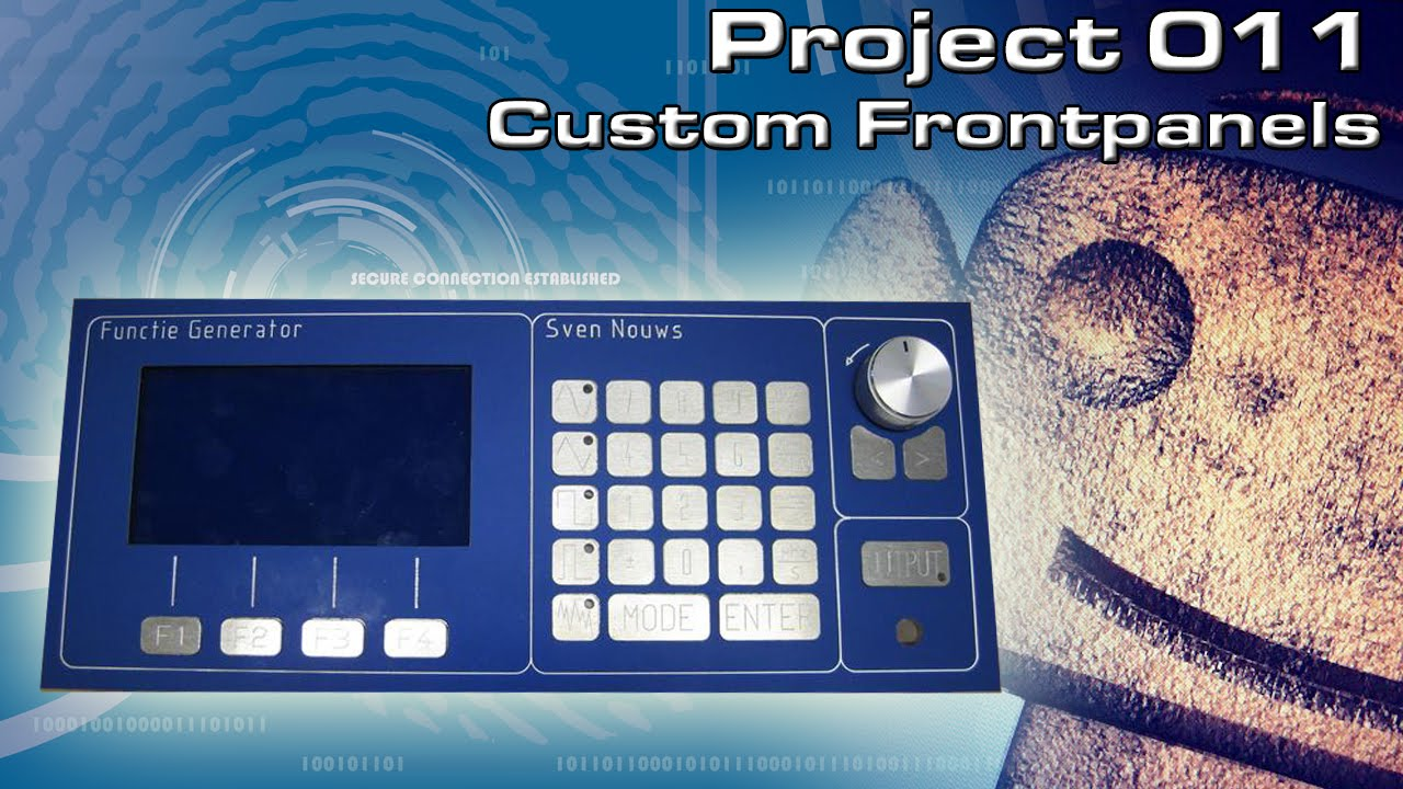 Rcnc Projects 11 Making Custom Front Panels Part 2 Of By Flexible Circuit Board Using 3d Printer Makerflux
