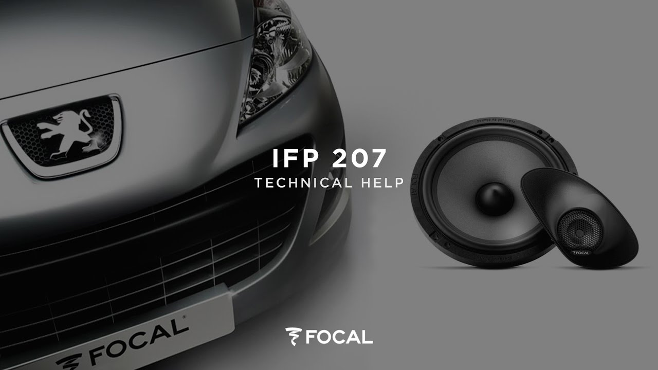 installing a ifp207 peugeot 207 dedicated kit [ 1280 x 720 Pixel ]