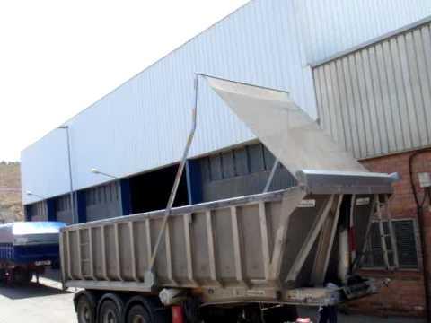 Toldos brazos ba eras camiones youtube for Brazos para toldos