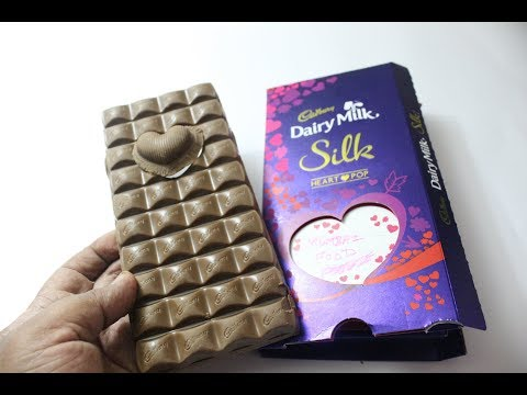 CADBURY Dairy Milk VALENTINE'S MESSAGE HEART POPUP Chocolate   Cadbury Silk Valentine's Special 2019