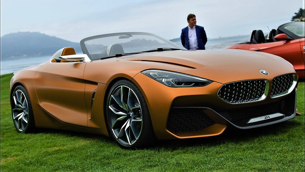 New Bmw Z4 2018 Beautiful And Aggressive Youtube