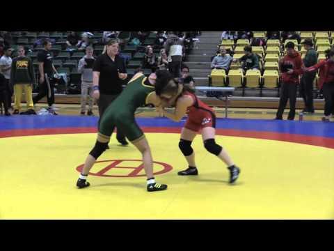 2016 Golden Bear Open: 55 kg Rachel Alder vs. Chantal Pasion