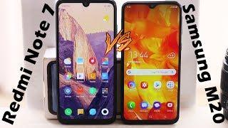 Xiaomi Redmi Note 7 vs Samsung Galaxy M20 | Which one to buy? Full Comparison (Bangla)