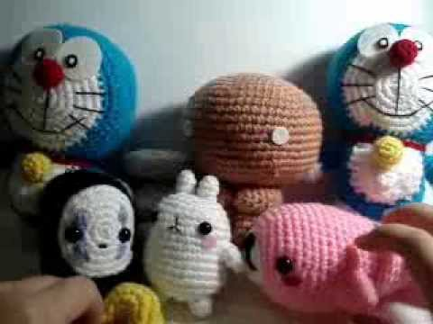 Amigurumi Doraemon Pattern : Amigurumi update no face molang doraemon