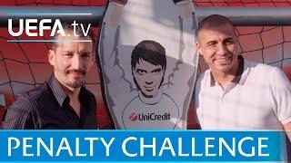 Trezeguet v Zambrotta: UEFA Champions league penalty shoot-out