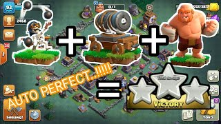 STRATEGI TERBARU ATTACK MODE MALAM-CLASH OF CLANS