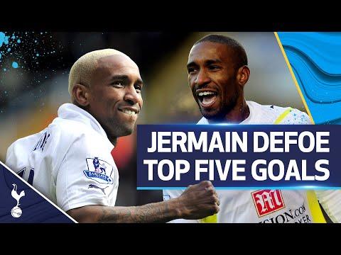 JERMAIN DEFOE'S TOP 5 GOALS FOR SPURS!  🔥