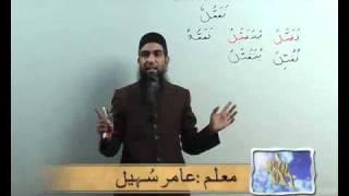 Arabi Grammmar Lecture _58 Part _01 عربی  گرامر کلاسس