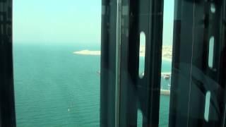 Burj Al Arab subiendo el ascensor