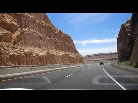 Cross country Tesla Trip 2016 - Back through Utah canyons (Part 7)