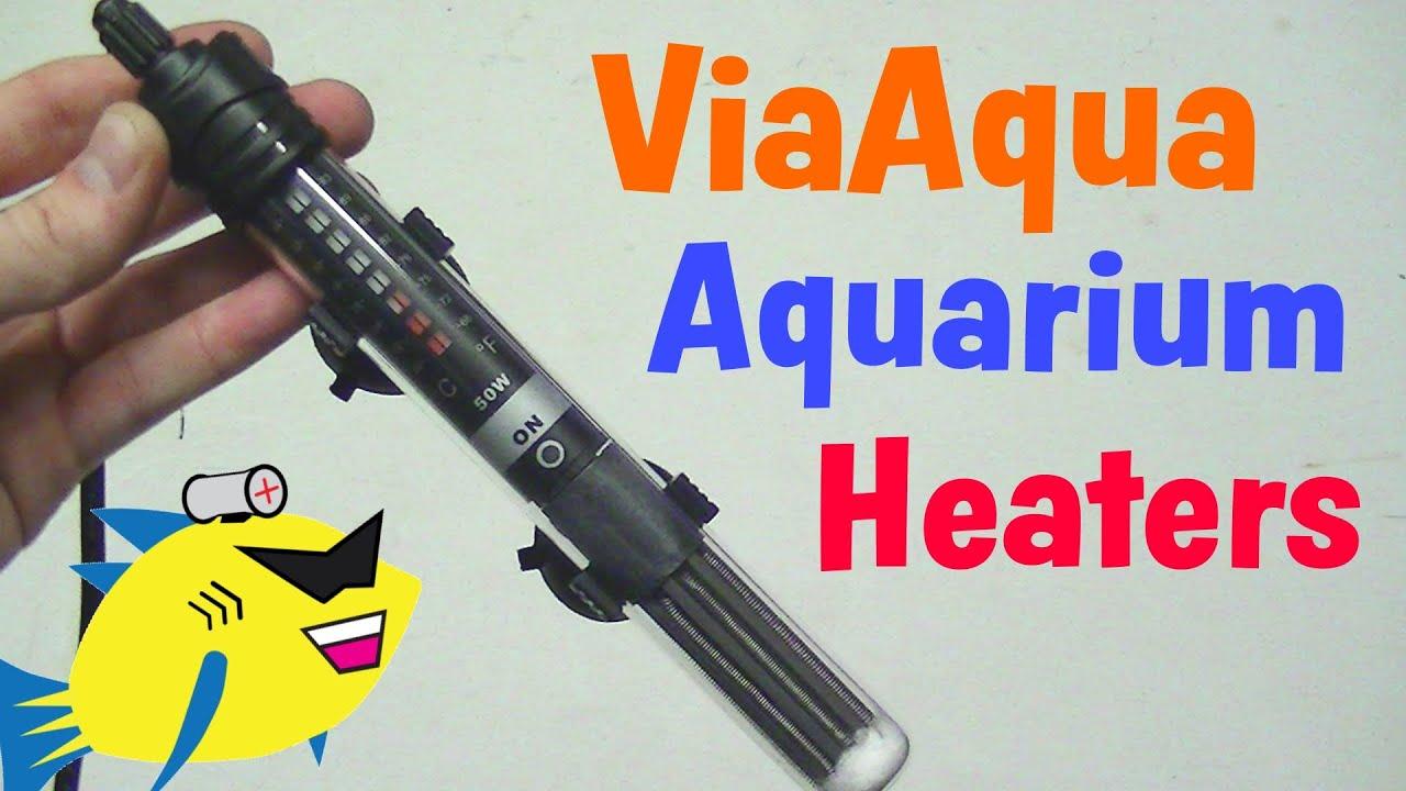 Viaaqua Quartz Aquarium Heater Review Youtube
