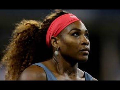 Serena Williams   Francesca Schiavone US Open 2013 Round 1