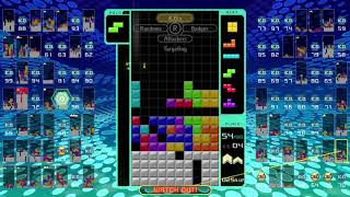 Tetris 99 - First Place