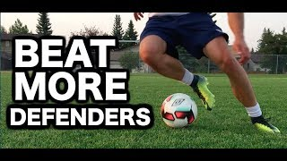 8 Easy Skill Moves To Beat A Defender | Easy Soccer Skills To Beat a Defender | Easy Soccer Moves
