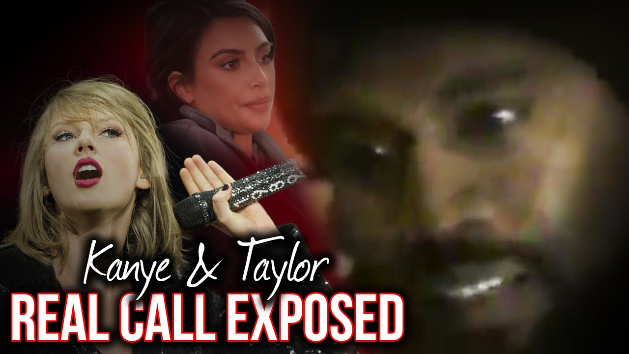 How Kim Kanye Were Exposed For Lying About The Taylor Swift Lyric Call Youtube