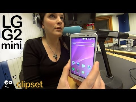 LG G2 mini review VideoCast